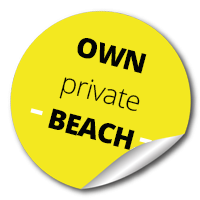 private beach Lipno, Kovarov